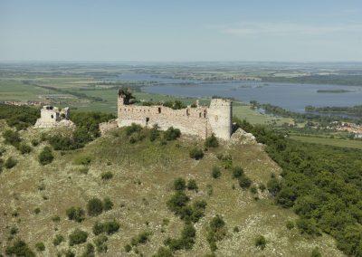 Děvín, zřícenina hradu